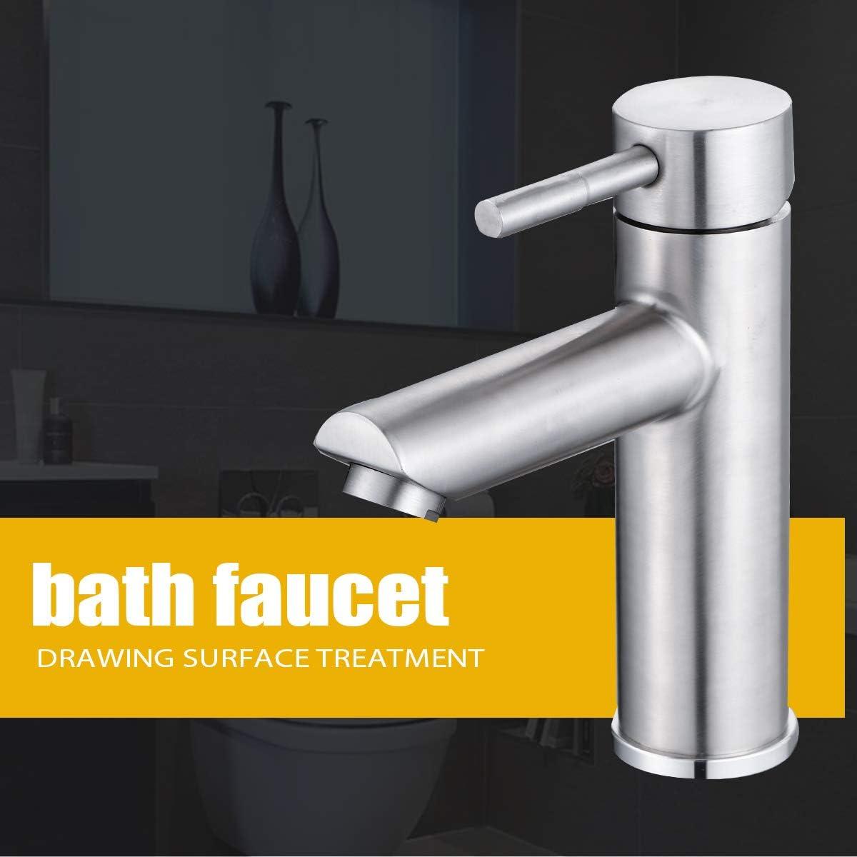 robinet de lavabo de salle de bain robinet de salle de bain /à poign/ée unique chrome FA-22801 Robinet de salle de bain moderne monotrou