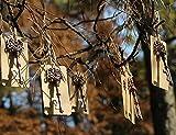QTMY Wedding Favor Skeleton Key Bottle Opener with Escort Tag Card - 100pcs