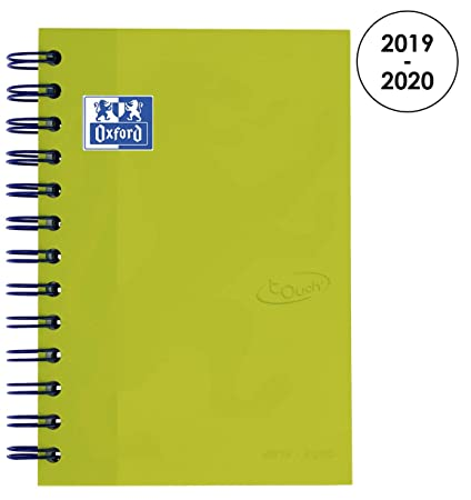 Amazon.com : Oxford 100735775 School Soft Touch 2018-2019 ...