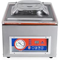 KUNHEWUHUA 10''/260mm Commercial Vacuum Sealer Food Vacuum Sealing Machine Vacuum Packaging Machine 110v