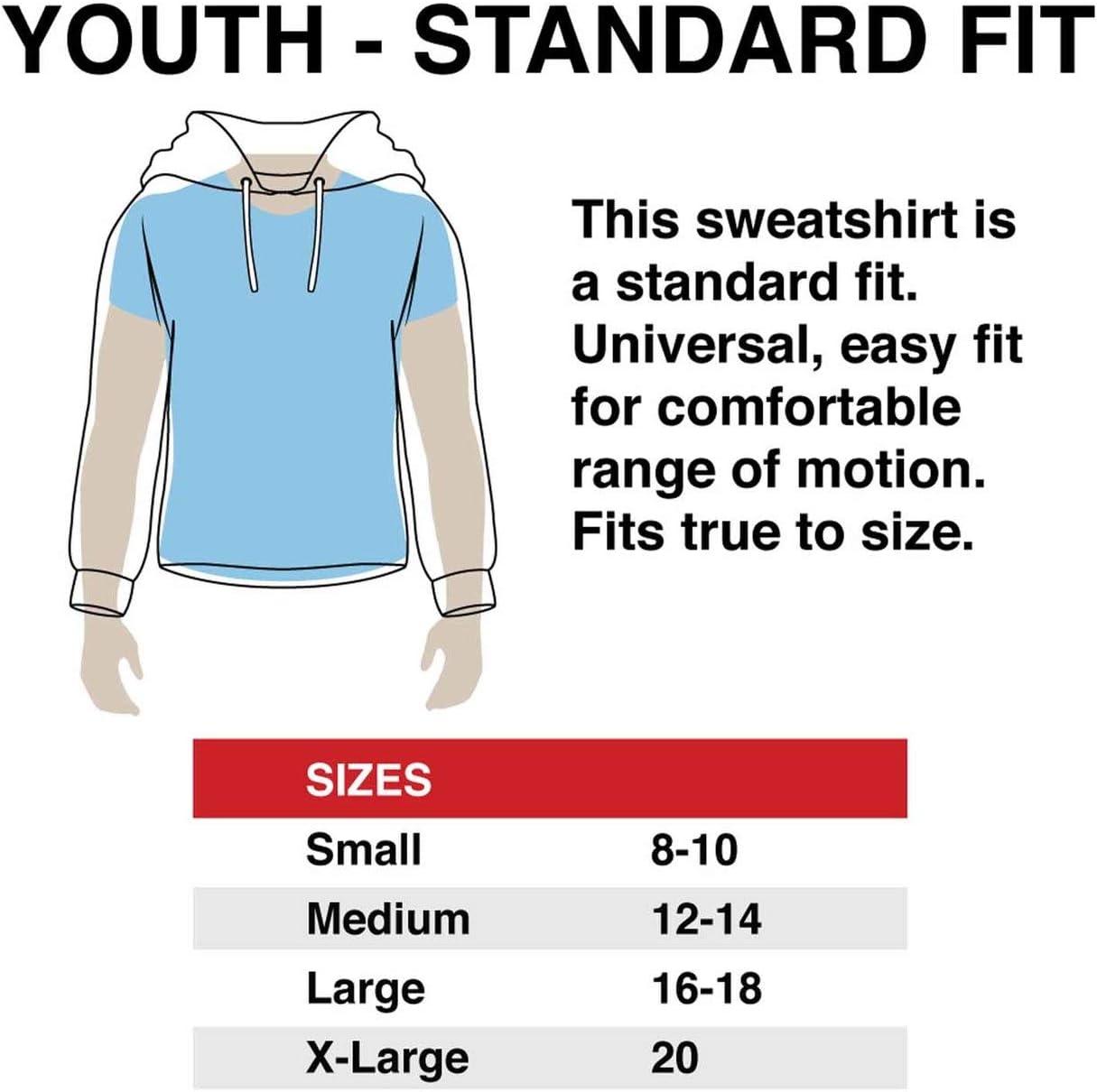 Arizona Wildcats Youth NCAA Super Fan Hooded Sweatshirt Team Color