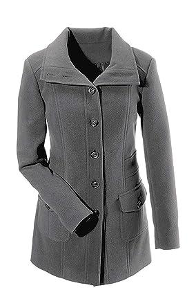 Abrigo corto Perchero para uso de Cheer gris 40: Amazon.es ...