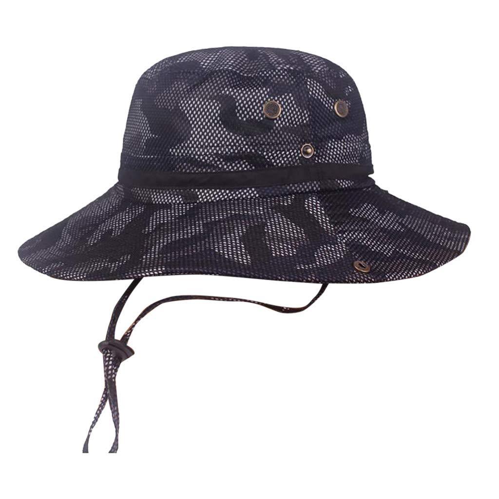 MINXINWY_ Gorras de béisbol de Hombre Verano, Sombrero para el Sol al Aire Libre Gorra Hombre de algodón Color sólido Gorra Casual Cap Adolescente Snapback ...