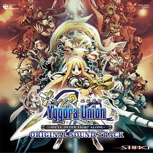 YGGDRA UNION PSP BAN ORIGINAL SOUNDTRACK by GAME MUSIC(O.S.T.) (2010-06-23)