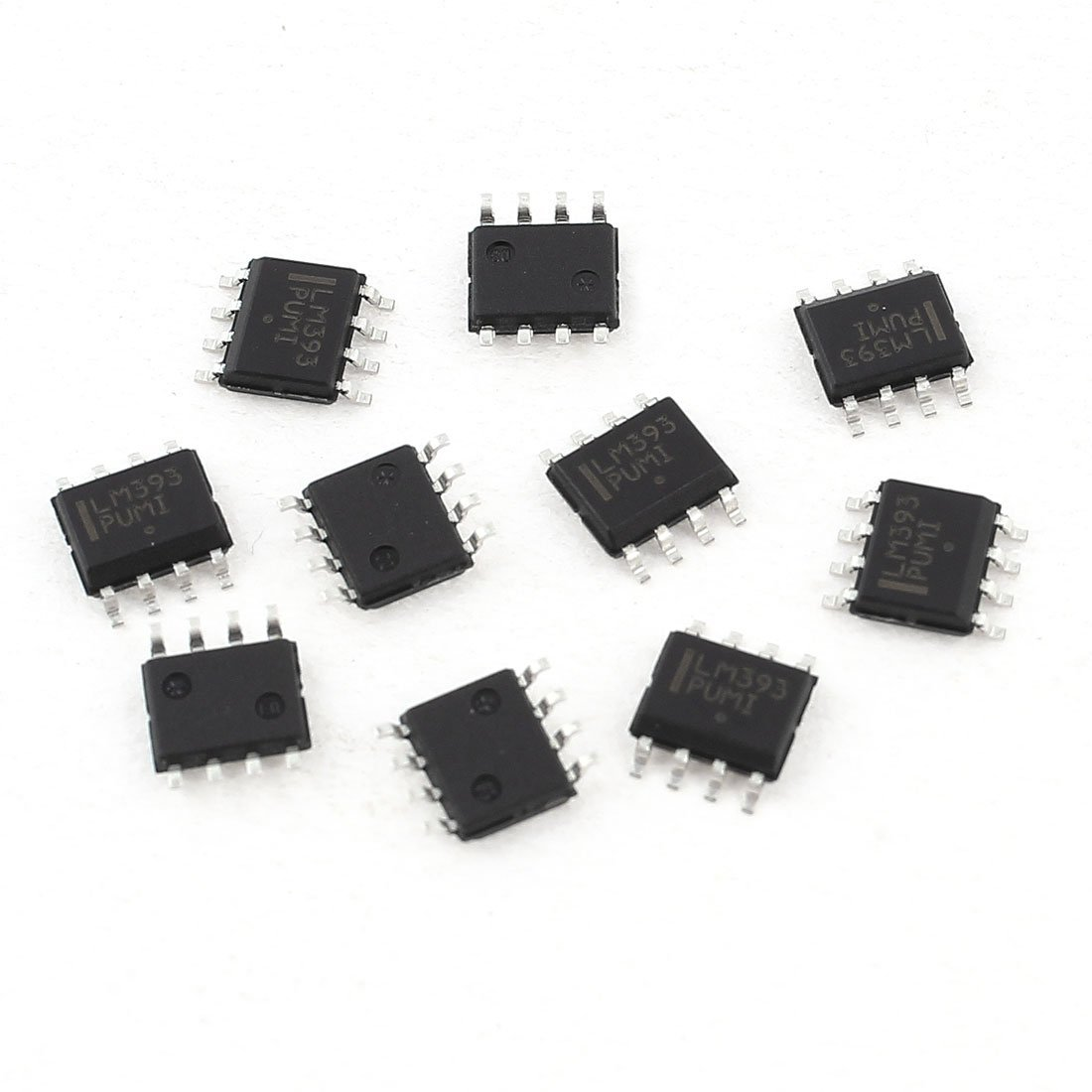 10 Pcs LM393 SOP-8 8Pin SMD Dual Voltage Comparator IC