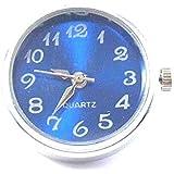 Time4-Charms Chunks Uhr für Armband & Kette Druckknopf charm Click Button Farbwahl