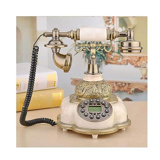 LYDIAMOON Telefono Fijo Retro gsm 900/1800Mhz Soporte ...