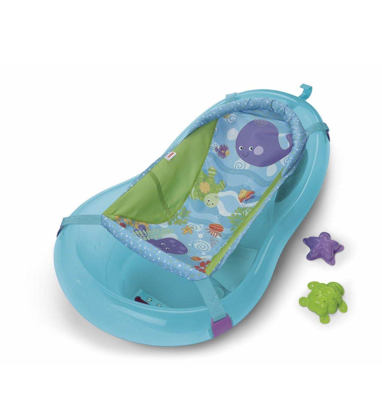 Fisher Price T6207 Ocean Aquarium - grows with baby bath thermometer ...
