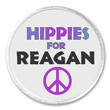 Amazon.com: A & T diseños hippies para Reagan 2.25