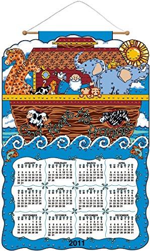 Promise 2011 Jeweled Felt 16x24 Calendar - Jeweled Calendars Felt Bucilla