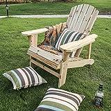 LOKATSE HOME Outdoor Wooden Adirondack Chairs