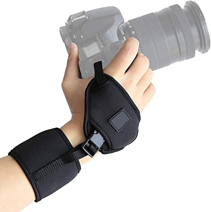 IMPUGNATURA CINGHIA DA POLSO UNIVERSALE Hand Grip Strap  NIKON CANON DIGITAL HD