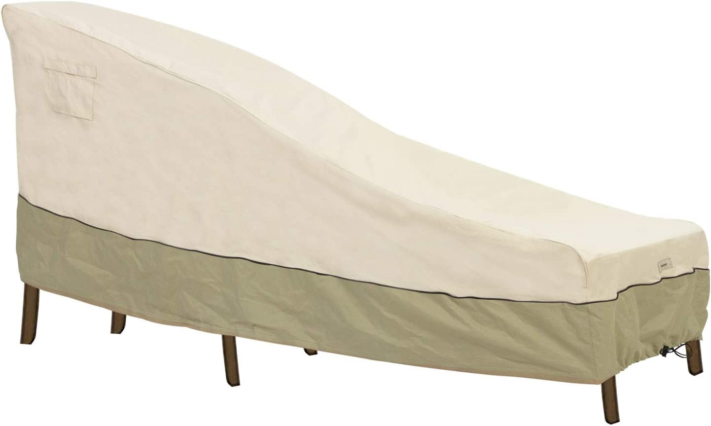 Bestalent Outdoor Furniture Cover Patio Chaise Lounge Cover,80-Inch