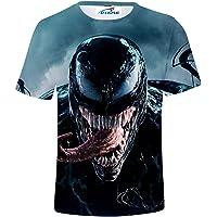 Oxking Kids Child Girls and Boys T-Shirt Unisex 3D Graphic Print Family Comedy Movie Summer Cool Tshirts dyE Venom 10…