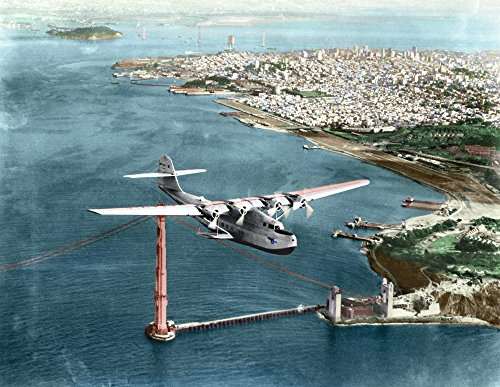 (China Clipper 1935 Nthe Pan American Martin M-130 Flying Boat China Clipper Leaving San Francisco On The First Transpacific Airmail Flight To Honolulu Midway Wake Guam And Manila 22 November)