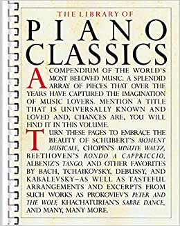 The Library Of Piano Classics Music Sales 0752187668954