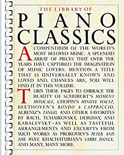 Library of Piano Classics: Piano Solo (0825611113) | Amazon Products