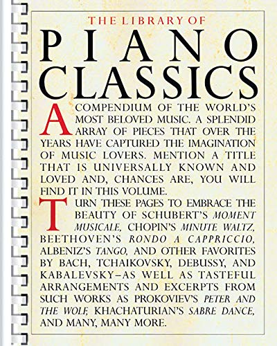 The Library of Piano Classics -