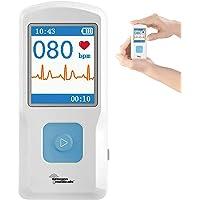 newgen medicals EKG Gerät: Mobiles medizinisches EKG-Messgerät mit PC-Software (Mobile EKG Geräte)