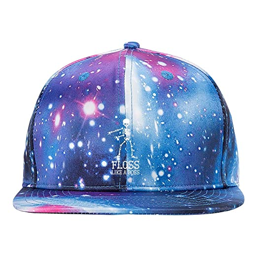 Image Unavailable. Image not available for. Color  CAHAFun Galaxy Snapback  Hat Floss Like A Boss ... 5117f9a8c71a