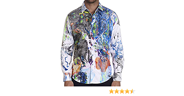 Details about  /Robert Graham Men/'s S//S Woven Shirt Choose SZ//color