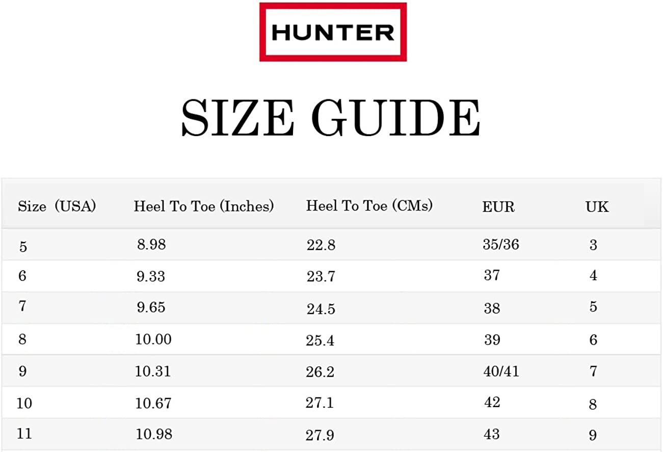 Hunter Womens Original Tour Gloss Winter Snow Waterproof Wellies Boots