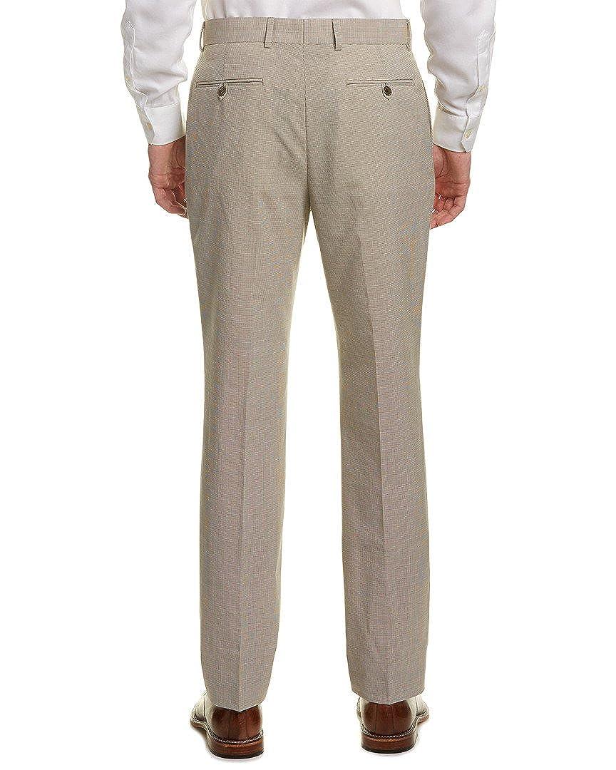 Original Penguin Mens Tan Check Suit Separate Pant