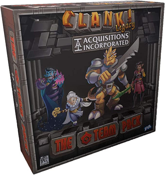 Imagen deRenegade Game Studios-Clank Legacy: Acquisitions The C Team Pack, Color incoloro (RGS2049)