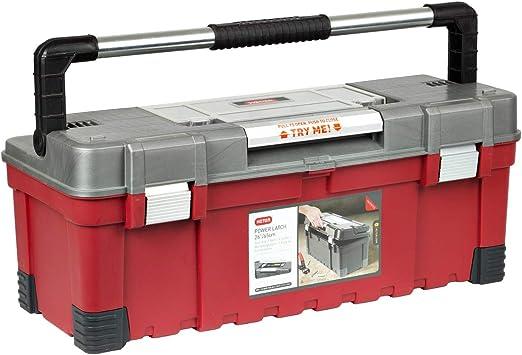 Maletín de herramientas caja de herramientas de energía latch Keter 66.04 cm maleta: Amazon.es: Bricolaje y herramientas