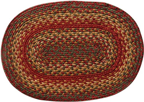 Homespice Cider Barn Braided Placemat [Set of (Braided Placemat)