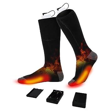 Premium algodón calcetines con calefactor, kaoocl Calcetines Térmicos Hombre y Mujer Duo térmica aufge wahrung