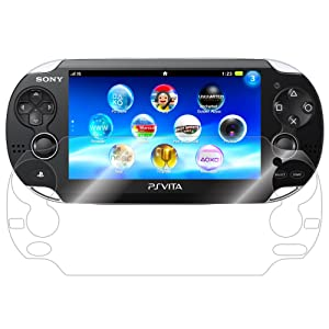 ArmorSuit MilitaryShield Screen Protector for Sony Playstation Vita - [Max Coverage] Anti-Bubble HD Clear Film
