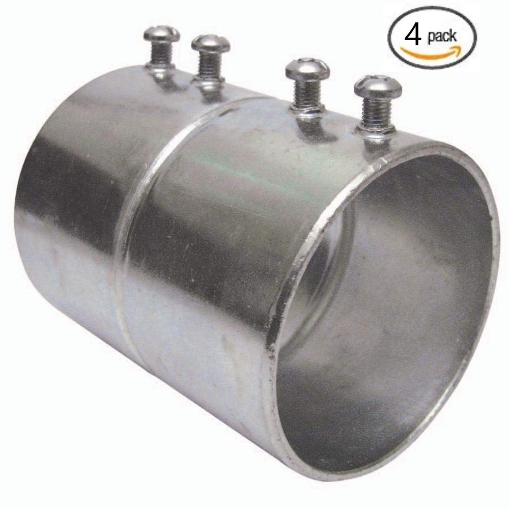 EMT Conduit Steel Set-Screw Couplings 3//4 in. diameter; 25-Pack 3//4 in