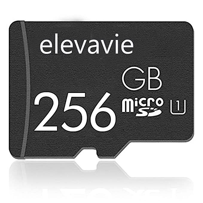 elevavie 256GB Ultra Micro SD Card Memory Card High Speed for Cameras Tablets and Android Smartphones U1-256GB