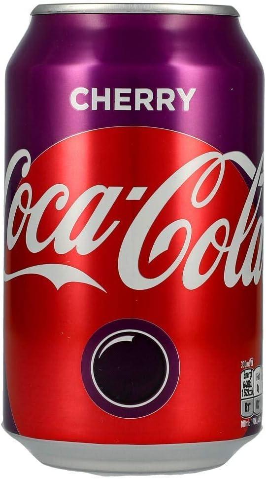 Cocal Cola Cherry, 24 x 330ml Lata (Sabor Cereza): Amazon.es ...