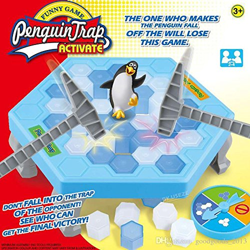 Penguin Trap Ice Breaking Interactive Toy Puzzle Table Board Game
