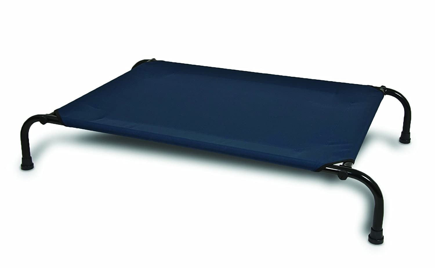 Blue Fabric Bed Part - 32: Amazon.com : Aspen Pet Elevated Pet Bed, 43-Inch By 32-Inch, Large, Blue  Fabric With Black Frame : Raised Dog Bed Large : Pet Supplies