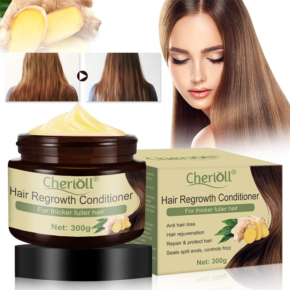 Thickening Conditioner, Hair Conditioner for Hair Loss, Hair Growth Conditioner, Deep Conditioner For Repair & Protect Hair, Anti Hair Loss, Hair Rejuvenation, Seals Split Ends, Controls Frizz (300g) by TOULIFLY