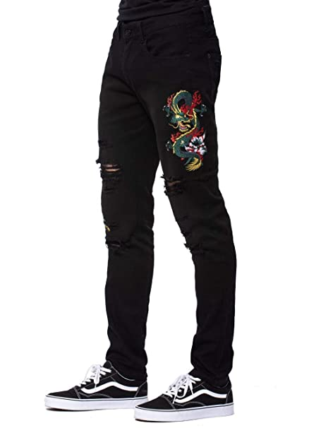 Amazon.com: Young and Reckless – Dragon Denim – Negro ...