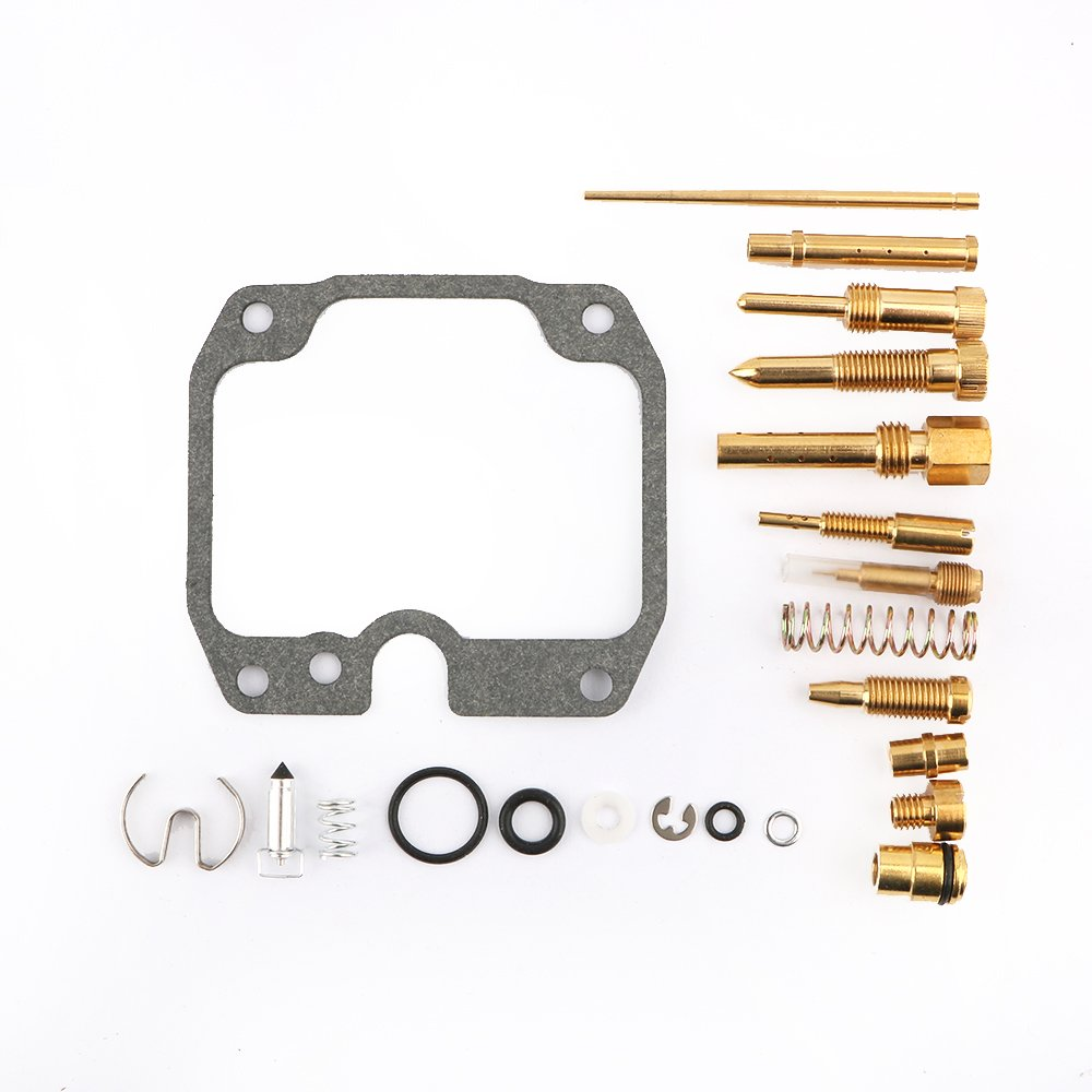 Carb Carburetor Rebuild Kit Replace for 2003-2006 Kawasaki 250 Bayou KLF250 ATV By Mopasen