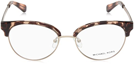 c89834141ac Amazon.com  Michael Kors Women s 0MK3013 Pink Tortoise Rose Gold Iridescent  One Size  Clothing