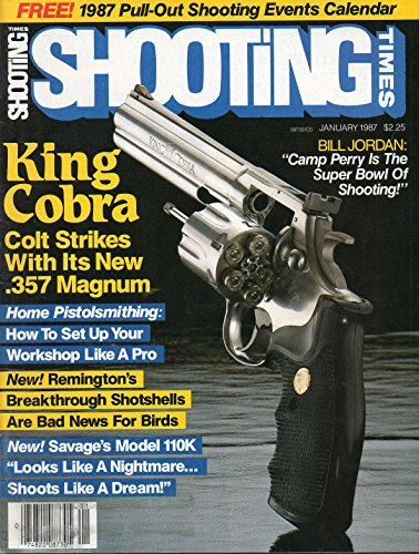 Magnum Turkey (Shooting Times January 1987 Magazine KING COBRA: COLT STRIKES WITH ITS NEW .357 MAGNUM)