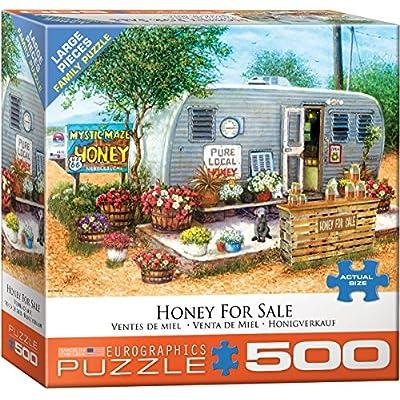EuroGraphics (EURHR Honey for Sale 500Piece Puzzle 500Piece Jigsaw Puzzle: Toys & Games