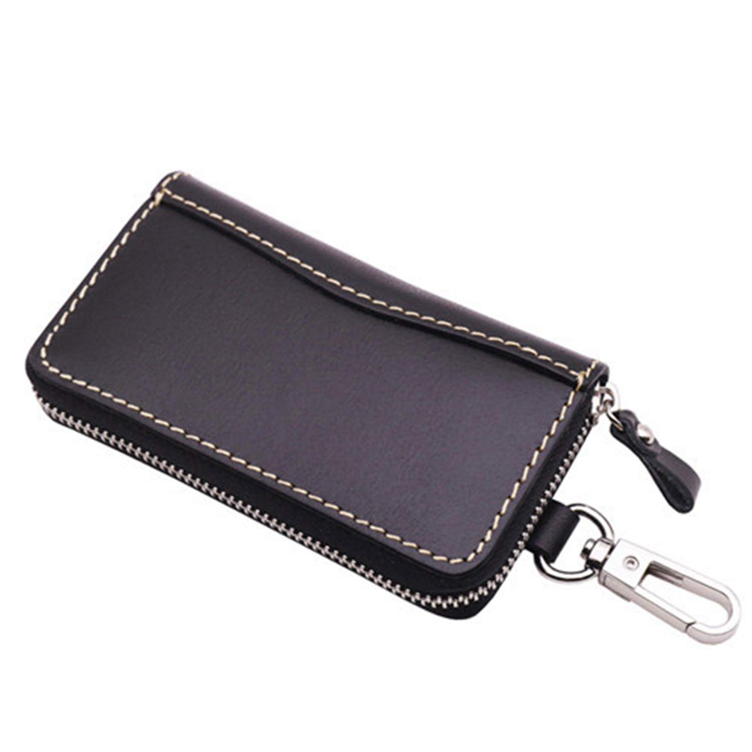 Multicolor Keychain Bag Holder Case For Car Auto Genuine Leather Key Bags BS