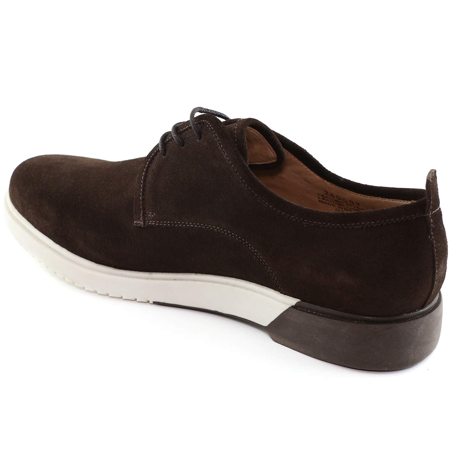 Mens Genuine Leather Made in Brazil Tribeca Lace Up