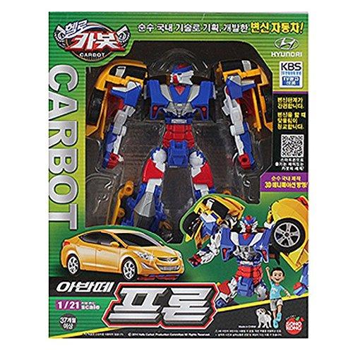 Hello Carbot Avante Pron Transformer Robot Toy Action Figure 1/21 Scale