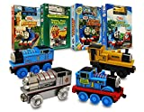 Thomas and Friends Movie & Train Set Collection # 3 (Thomas and Friends Milkshake Muddle / Thomas, Percy And the Dragon And Other Stories / Railway Friends / Thomas Trusty Friends)