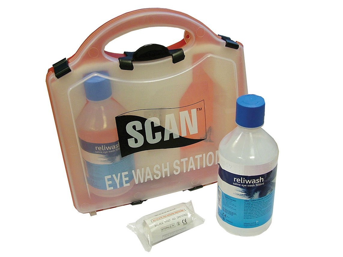 Scan Eye Wash Station SCAFAKEYE