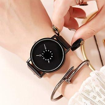 TIANJJ Reloj de Pulsera Relojes Mujer 2019 Minimalista Reloj ...