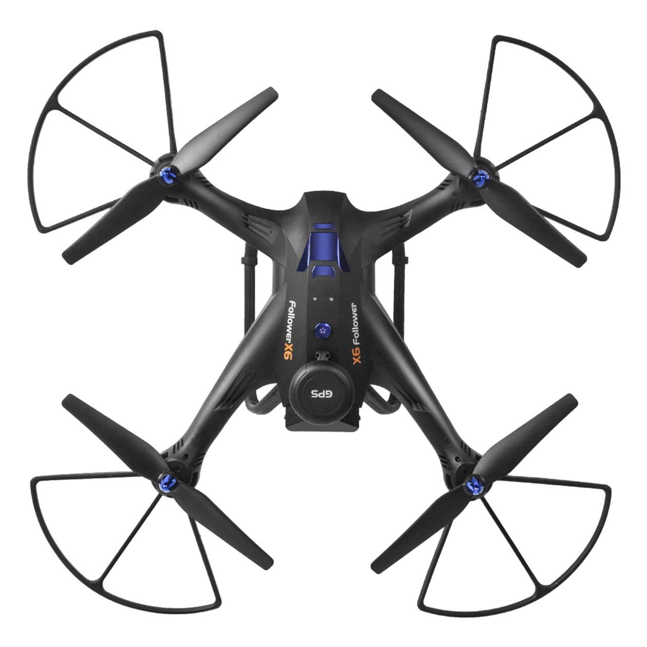 HONZIRY Xinlin SHIYE X183 5.8G Dual GPS RC Quadcopter Drone ...